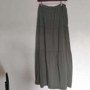 Dresses & Skirts - Sage Green Maxi Skirt